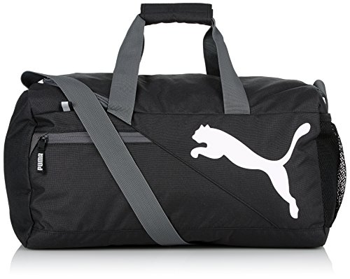 PUMA Sporttasche Fundamentals Sports Bag S, schwarz, 70 x 50 x 10 cm, 0.4 Liter