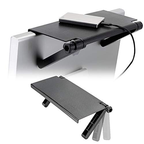 heling896 - Soporte de Monitor para Ordenadores, portátiles, Ordenadores de sobremesa, impresoras (2 Unidades), a, 1PACK