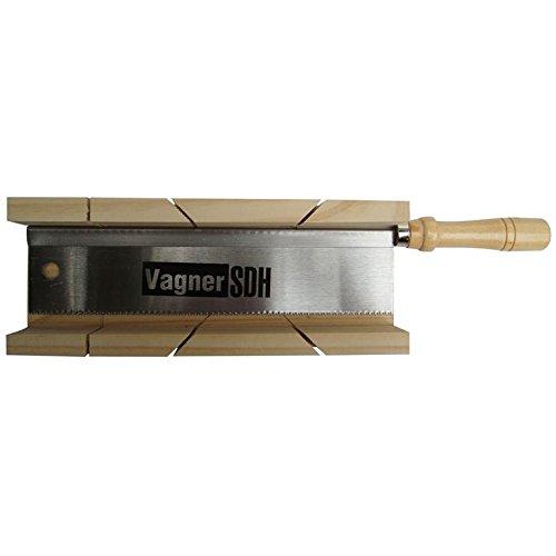 Sägeset Feinsäge Schneidlade 250 x 70 x 40 mm Holz Gehrungslade Winkelschneider
