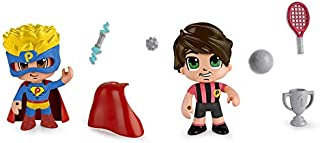Famosa- PinyPon Action Pack 2 Figuras 22x20 cm, Multicolor, 22 x 20 cm (700014492)
