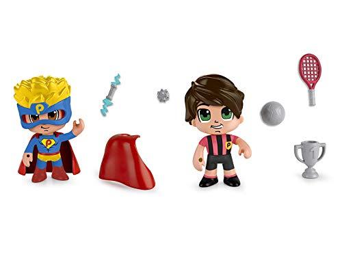 Famosa- PinyPon Action Pack 2 Figuras 22x20 cm, Multicolor,