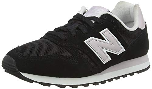 New Balance Damen 373 Sneaker, Schwarz (Black/Light Cashmere Blg), 37 EU