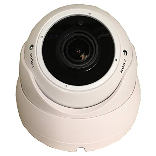 101AV 1080P True Full-HD Security Dome Camera 2.8-12mm Variable Focus Lens 2.4Megapixel STARVIS Image Sensor IR in/Outdoor WDR OSD Works w/ 1080P TVI 1080P AHD 1080P CVI & Standard Recorder only
