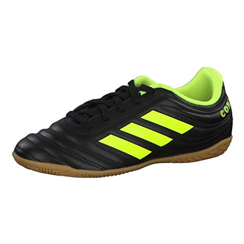 adidas Unisex-Erwachsene Copa 19.4 In J Fußballschuhe, Mehrfarbig (Negbás/Amasol/Negbás 000), 38 2/3 EU