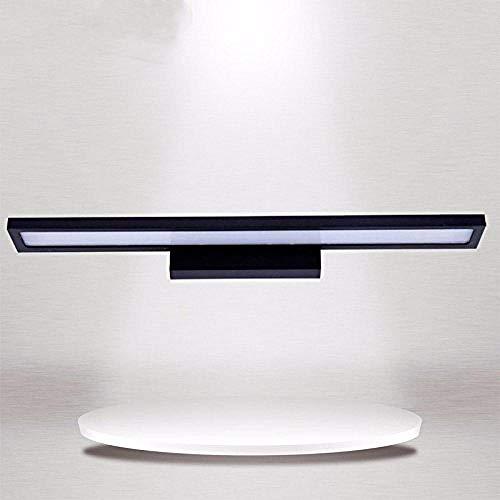 - Qualität Led Aluminium Badezimmer Make-up Spiegel Licht Lampe Studie Wohnzimmer Wandleuchte Finishing 110V 220V 40Cm Schwarz Warm Weiß-Kaltweiß