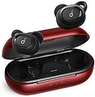 【第2世代】Anker Soundcore Liberty Neo(ワイヤレスイヤホン Bluetooth 5.0)【IPX7防水規格 / 最大20時間音楽再生 / Siri対応/グラフェン採用ドライバー/マイク内蔵/PSE認証済】(レッド)