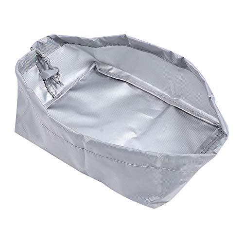 Haofy 20x15x8cm 420D Oxford Paño Freidora Cubierta de la máquina Freidora Resistente al Agua Cubierta Antipolvo Freidora Cubierta Protectora Exterior para Uso doméstico(Gris)