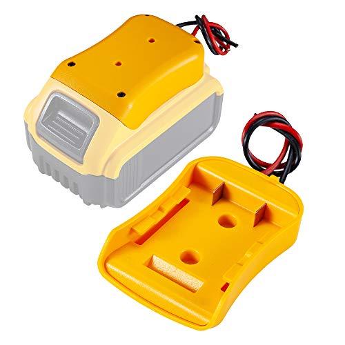 Power Wheels Adaptor for Dewalt 20V Battery Dock Power Connector 12 Gauge Robotics