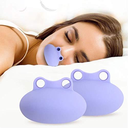ZENGZHIJIE Anti-Schnarch-Geräte, Schnarchlösung Nasendilatator Anti-Schnarch-Nasenlöcher Stop Schnarchhilfen Schnarchstopper Reduzieren Sie das Schnarchen
