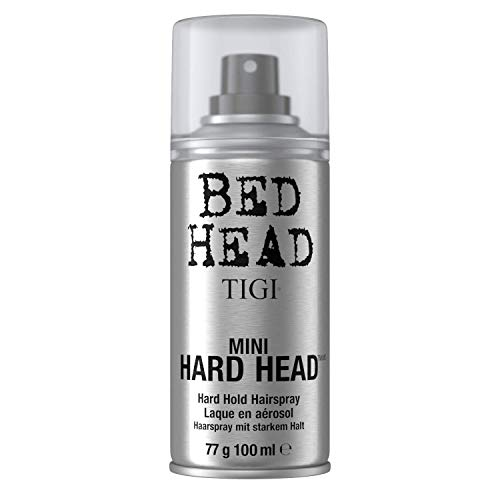 TIGI Bed Head Mini Hard Head Spray, 3 oz (Pack of 2)