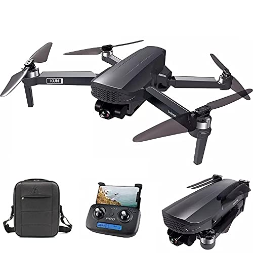 Drone GPS FPV pieghevole con videocamera HD 4K Video in diretta per principianti, Quadricottero RC con GPS Ritorno a casa, Seguimi, Controllo dei gesti, Volo in cerchio, Hover automatico e Trasmissi