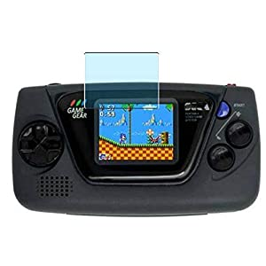 Vaxson 3-Pack Anti Blue Light Screen Protector, compatible with SEGA GAME GEAR micro, Blue Light Blocking Film TPU Guard [ NOT Tempered Glass ]