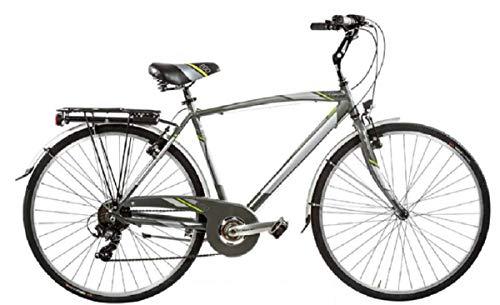 Bici Misura 28 Uomo City Bike Alluminio 6V Ego Art. EGO6V (57 CM)