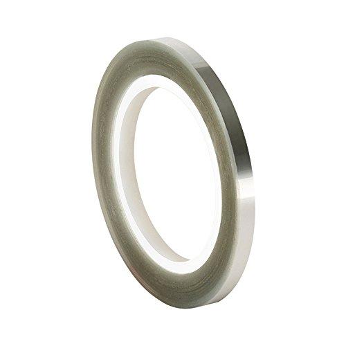 TapeCase 502FL tape voor lamineerfolie, 0,6 cm x 0,6 m, transparant, PET/acryl, 3M 502FL
