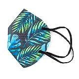 Null Karat 5 FFP2 Masken Muster Motiv bunt Farbe Hawai