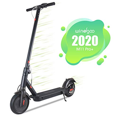Windgoo Patinete Eléctrico Plegable E Scooter, hasta 25 km/h, Batería de Largo...