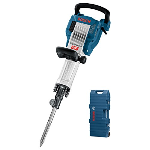 Bosch Professional GSH 16-30 - Martillo demoledor (41 J, Hex 30 mm, Vibration Control, en maletín con ruedas)