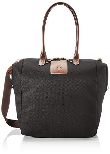 Roeckl Unisex-Erwachsene Bottle Bag Schultertasche Maxi Henkeltasche, Schwarz (black), 18x37x42 cm