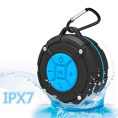 [Updated Version] Portable Shower Speaker,TOPROAD IPX7 Waterproof Wireless Outdoor Speaker with HD...