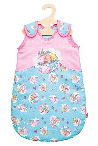 Heless 1994 Schlafsack für Puppen, Einhorn Emil und Fee Emma, Größe 28-35 cm