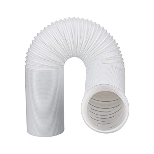 hose portables Air Conditioner Exhaust Vent Hose For Portable AC Counter Clockwise 5 Inch Diameter Length 59 Inches. Fits Whynter, Honeywell, EdgeStar, LG, Delonghi and More. A/C 5