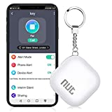 BEBONCOOL Schlüsselfinder, Key Finder Unterstützen iOS/Android, Schlüssel Finder mit Bidirektionalem Alarm/Silent Mode, Multifunktionaler NUT Keyfinder, Smart One Touch Find Schlüsselfinder GPS
