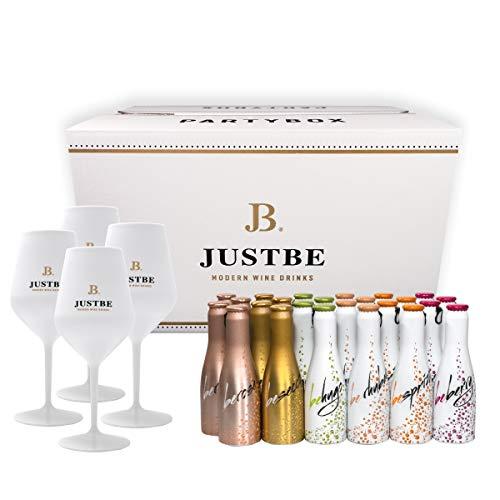 JUST BE Geschenke-Set Wein-Cocktail Party-Box (M)