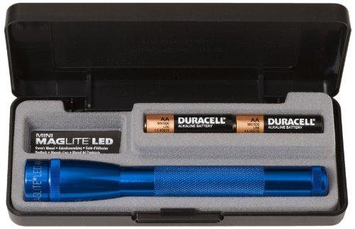 MagLite AA LED Lampe Torche avec Coffret de présentation Bleu Bleu N/A