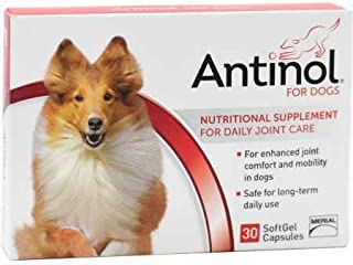 Antinol for Dogs 30 Soft Gel Capsules