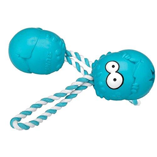 COOCKOO 303-436073 Hundespielzeug Bumpies, mit Seil, Minzgeschmack, 13-30 kg