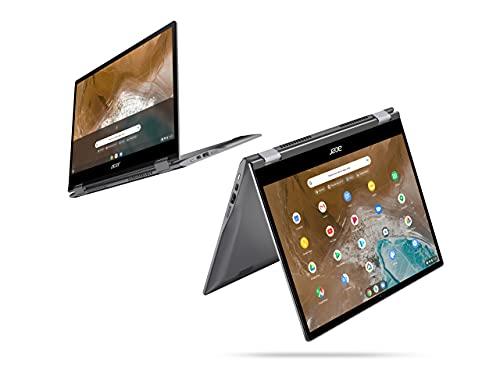 Acer Chromebook Convertible 13 Zoll (CP713-2W-541X) (ChromeOS, QHD Touch-Display, bis zu 10 Stunden Akku-Laufzeit, Tastatur beleuchtet, Aluminium; 1,4 Kg leicht, 17mm dünn) Premium Chromebook - 3