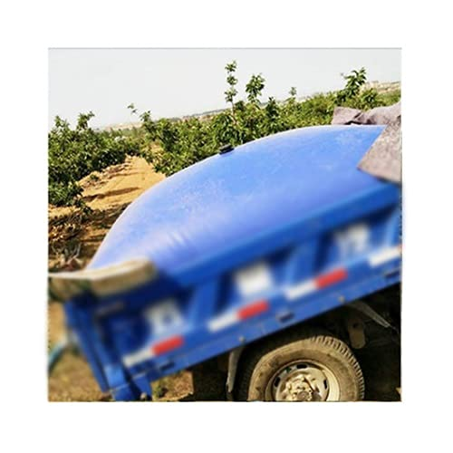 SHIJINHAO Contenedor Portador De Agua De Gran Capacidad para Exteriores, Espesar El Tanque De Agua De Emergencia Portátil Resistente Al Desgaste con Grifo (Color : Blue, Size : 670L/1.5x0.9x0.5M)