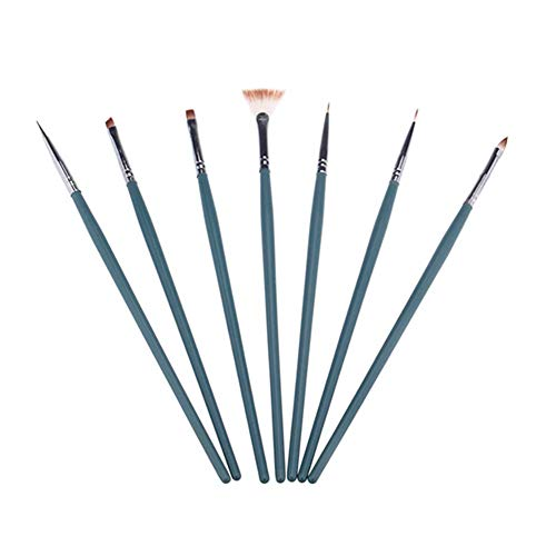 Demarkt Nagel borstelset nagel pen set nagel kwast set Nail Art Design Pen nageldesign nagel kunst gereedschap donkergroen