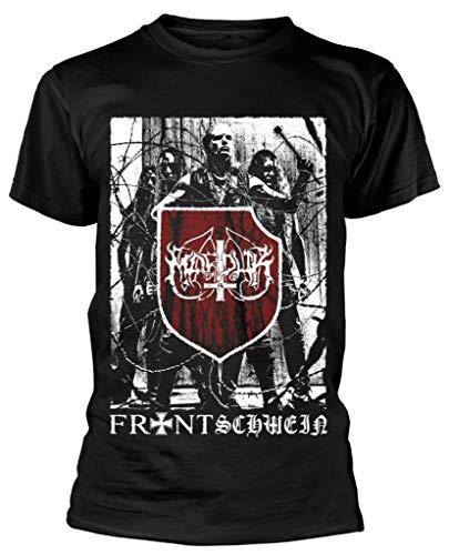 Marduk - Band T-Shirt Brandneu Offiziell Hi Fidelity Waren Size-3XL Color-Black