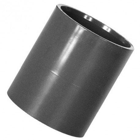 PVC Muffe 1 Stück beidseitiger Klebemuffe, Größe wählbar von 12-110mm (50mm)