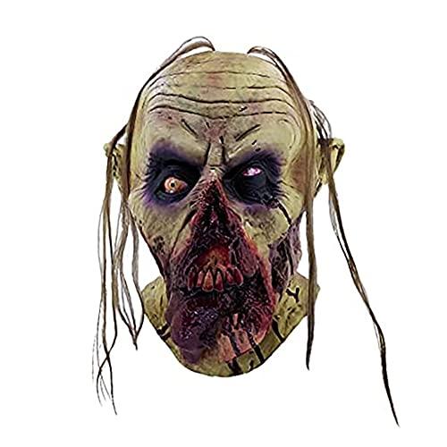 Disfraz De Halloween Máscaras De Terror Máscaras Faciales Divertidas Máscaras Anónimas De Látex Halloween Nueva Máscara De Horror Zombie Sangrienta Accesorios De Fiesta