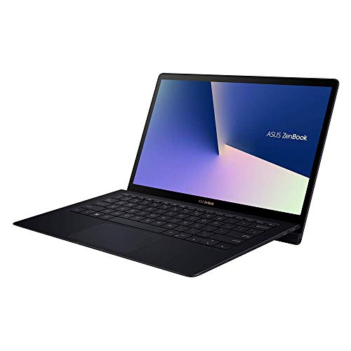 ASUS ZenBook S UX391FA (90NB0L71-M00120) 33,7 cm (13.3 Zoll, FHD, WV, Matt) Ultrabook (Intel Core i7-8565U, 16GB RAM, 512GB SSD, Intel UHD-Grafik 620, Windows 10) blau