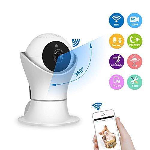 ZXL Surveillance Camera 2 MP HD 1080P Draadloze Twee-weg Voice WiFi Intelligente IP Camera voor Indoor en Outdoor Home Security