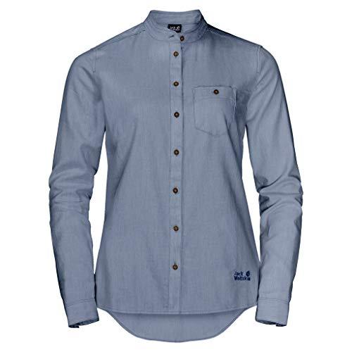 Jack Wolfskin NAKA RIVER SHIRT W bluzka, lapiz blue, L