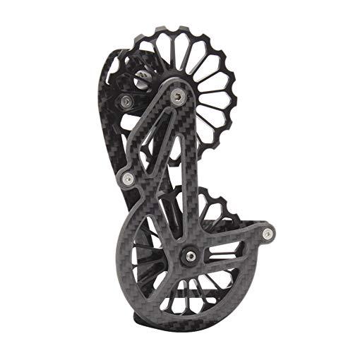 Tuneway Bicycle Rear Derailleur Ceramic Speed Wheel Body Carbon Fiver Frame Suitable for 6800 R7000 R8000 R9100 R9000