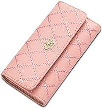 Lorna Imported Women Designer Wallet Golden/Blue/Purple/Rose Red