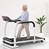DSHUJC Electric Folding Treadmills for Home Indoor Treadmills, Home Elderly Walking Machine,Rehabilitation Treadmill Fitness Exercise Limb Recovery