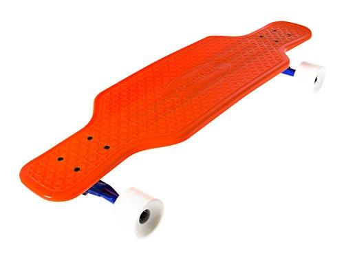 SportPlus - Longbaord EZY ! Skateboard Rétro - Roues AEBC-7 en PU - Longueur : env. 80 cm - Poids max de l'Utilisateur : 100 kg - Plusieurs Couleurs dispo