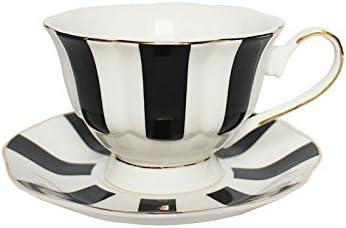 EKUEE Black and White Retro Series European Striped Indianapolis Mall Dot Polka Co Cheap sale