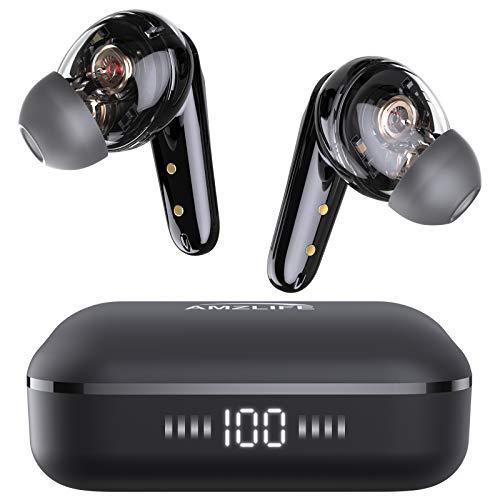 Bluetooth Kopfhörer in Ear Kabellos Kopfhoerer True Wireless Bloototh 5.0 Ohrhörer mit LED Digitalanzeige für iPhone Huawei Samsung Android Work Travel Gym