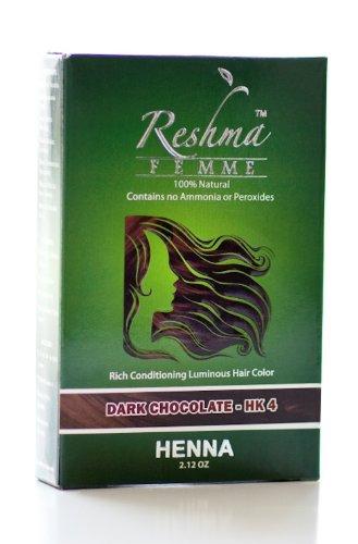 Reshma Femme Rich Conditioning Luminous Hair Color, Dark Chocolate, 2.12 Oz