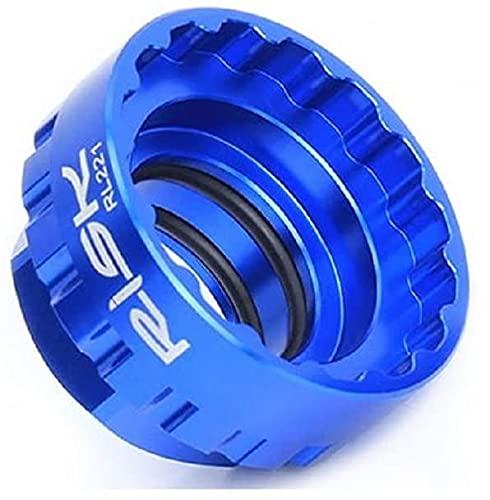 Herramienta de extracción e instalación del anillo de bloqueo de la corona de montaje recto de 12 velocidades compatible con la biela Shimano M7100 M8100 M9100 XT SLX