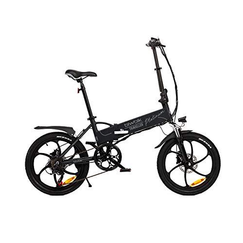 BIWBIK Bicicletta elettrica Pieghevole Traveller Platinum