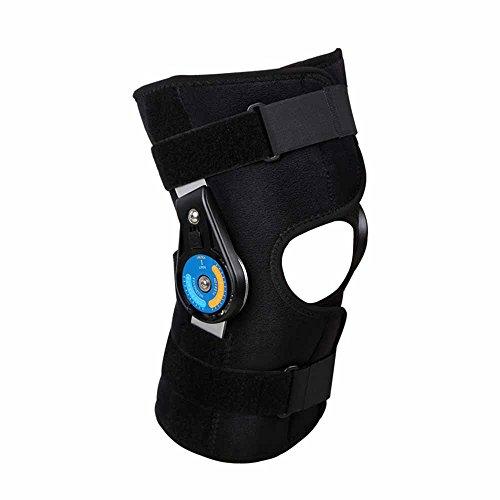 Rodilla Manga de compresión Lesión del ligamento tensión Ajustable Ortesis del Miembro Inferior de la ortesis Fija Protección (Single Installed)