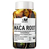 Bigmuscles Nutrition Organic Maca Root (800mg), 50 Days Supply, Energy, Performance & Mood